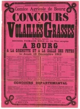 Le concours de volailles de Bresse - Archives départementales de l'Ain | Rhit Genealogie | Scoop.it