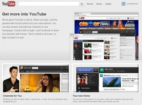 Llega el nuevo y mejorado Youtube   Educación a Distancia y TIC   Scoop.it