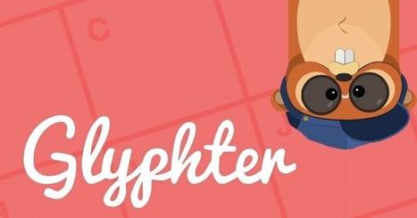 Glyphter: Blitzschnell zum eigenen Icon-Font – per Drag & Drop | coolwebworks | Scoop.it