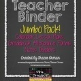 Teacher Binder Jumbo Pack: Gradebook, Forms, Lesson Plans, Calendar | Common Core Resources for ELA Teachers | Scoop.it
