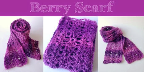 Five Little Monsters: Berry Scarf: Free Crochet Pattern | Needle and Hook Patterns-all free | Scoop.it