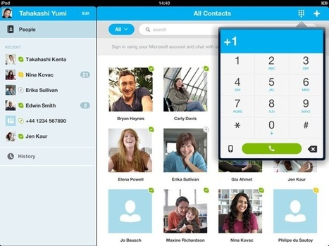 Skype Updates iOS App With New Calling Experience and Bug Fixes | Go Go Learning | Scoop.it