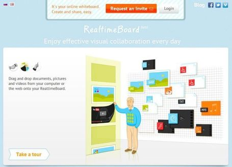 Realtimeboard: online en in realtime samenwerken « It's all in the Cloud! | Educatief Internet | Scoop.it