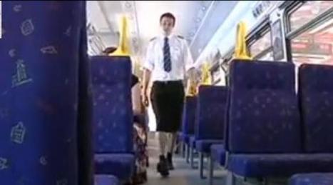 Suède : des conducteurs de train portent des jupes au travail   un peu de détente   Scoop.it