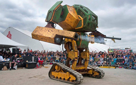 Japan and America agree to put giant fighting robots into battle | CLOVER ENTERPRISES ''THE ENTERTAINMENT OF CHOICE'' | Scoop.it