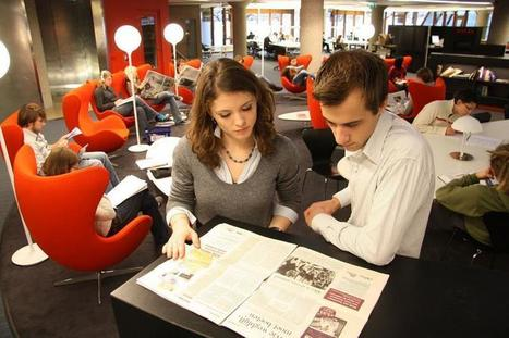 Les étudiants appelés à imaginer la bibliothèque universitaire de ... - Enssibrèves | architecture & design en bibliotheques | Scoop.it
