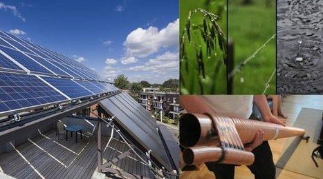Tout pour économiser l'eau et l'énergie à la maison | Nouvelle | Écohabitation | Constructions écologiques et durables | Scoop.it