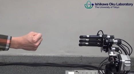 Voici le robot qui ne perd jamais à Roche-Papier-Ciseaux | Galatée | Scoop.it