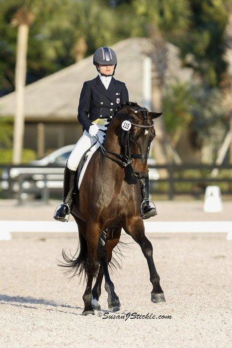 EQUESTRIAN: Dressage rider, horse find rhythm for success - Palm Beach Post   Dressage   Scoop.it