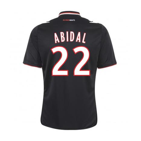 2013-14 Monaco Away Shirt (Abidal 22) | Monaco football club Dresses | Scoop.it