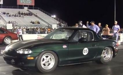 Electric Miata Flies Down Drag Strip In 9.1 Seconds | Sustain Our Earth | Scoop.it
