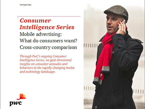 Etude PwC sur la publicité mobile | Marketing Mobile | Scoop.it