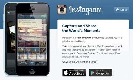 Instagram is now 3! | Social Media Pulse | Scoop.it