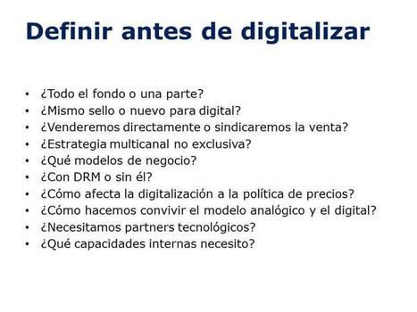 Digitalizando una editorial | Edición en digital | Scoop.it