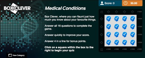 Medical Conditions Quiz | Box Clever | QuizFortune | Quiz Related Biz - Social Quizzing and Gaming | Scoop.it