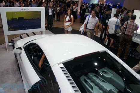 Pioneer Carrozzeria AR heads-up display hands-on (video - Engadget | Augment My Reality | Scoop.it