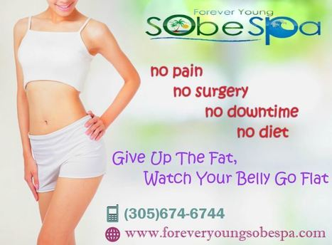 Ultrasonic Cavitation Treatment in Miami Beach | foreveryoungsobespa.com | forever young sobe spa | Scoop.it