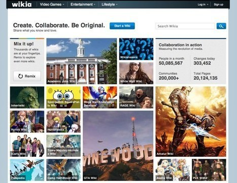 Wikipedia et Wikia dominent les wikis | Digital Experiences by David Labouré | Scoop.it