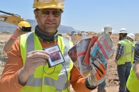 Landfill excavation unearths years of crushed Atari treasure [Updated] | Linux and Open Source | Scoop.it