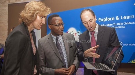 Intel launches digital content for Kenyan students | Kenya School Report - 21st Century Learning and Teaching | Scoop.it