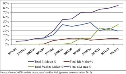 Genetically Modified Maize: Less Drudgery for Her, More Maize for Him? Evidence from Smallholder Maize Farmers in South Africa - Gouse &al (2016) - World Dev | Ag Biotech News | Scoop.it