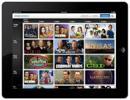CBS Connect endows NCIS, CSI and Hawaii Five-O with second screen interactivity for iPad | screen seriality | Scoop.it