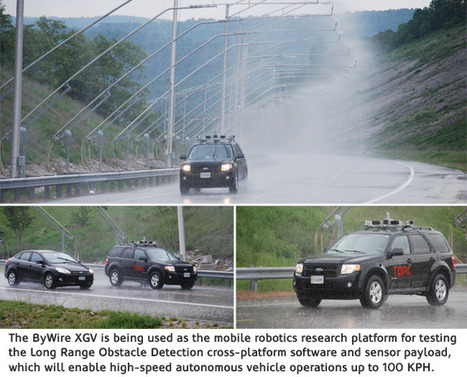 Autonomous Vehicle Technologies Being Tested on Virginia Smart Road | Robots and Robotics | Scoop.it