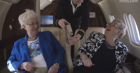 Watch These Women Take Their First Flight Together | Life @ Work | Scoop.it