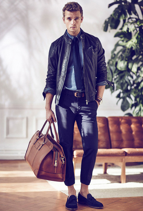 Benjamin Eidem and Dave Genat for Massimo Dutti March 2015 Lookbook | Male Models | Scoop.it