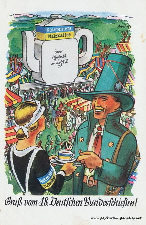Schützenfest in alten Postkarten | gaidaphotos | Scoop.it