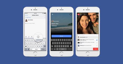 Live Video is Facebook's Most Facebook Feature In A While | Le Marketing Digital par François Scheid | Scoop.it