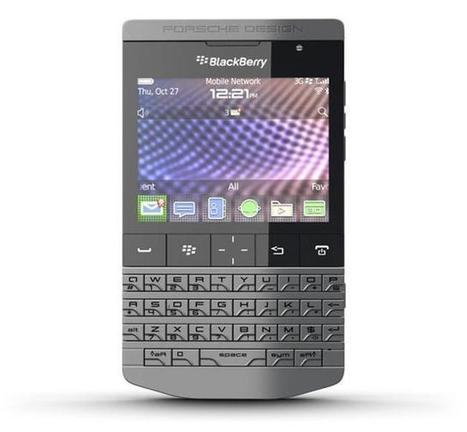 BlackBerry Porsche P'9981 available for pre-order now | Technology and Gadgets | Scoop.it