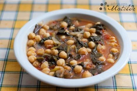 Potaje de garbanzos con espinacas | Qué se #cocina en la red | Scoop.it
