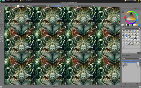 Krita - pintura digital, libertad creativa. | Arte y Tecnología | Scoop.it