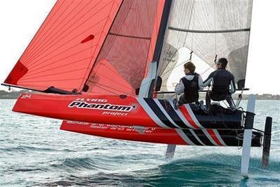À Saint-Lunaire et Lorient, Alex Udin fait voler les catamarans de sport - Saint-Lunaire - - ouest-france.fr | Actualités de Saint-Lunaire | Scoop.it