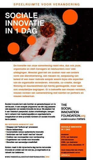 Speelruimte voor verandering: sociale innovatie in 1 dag | The ... | Krachten die de bouw gaan innoveren | Scoop.it
