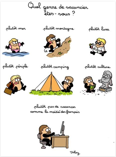 Quel genre de vacancier êtes-vous ? - activité - Le français et vous | French learning - le Français dans tous ses états | Scoop.it