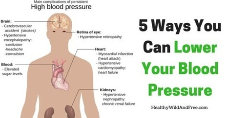 5 Ways That You Can Lower Your Blood Pressure | zestful living | Scoop.it