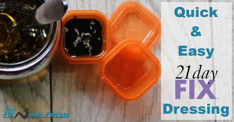 Homemade 21 Day Fix Salad Dressing vs Store Bought   Health & Fitness   Scoop.it