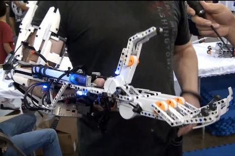 Un bras robotique fonctionnel en Lego Mindstorms EV3 | Hightech, domotique, robotique et objets connectés sur le Net | Scoop.it