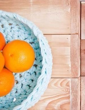 L'inspiration déco : les paniers tressés We Are knitters - Elle | Déco Design | Scoop.it