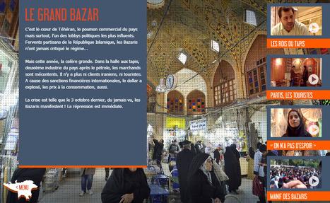 IRAN : Au régime des sanctions | Interactive & Immersive Journalism | Scoop.it