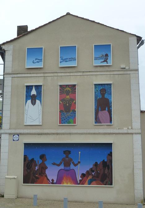 La Fresque de Kirikou, à Angoulême, Saint-Cybard, a été inaugurée ... | CITECREATION | Scoop.it