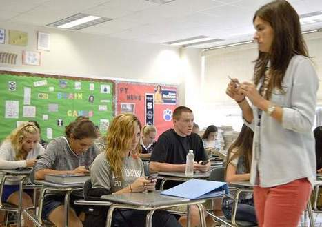 Peters Township High School embracing phone tech   Mobile Learning in PK-16 & Beyond...   Scoop.it