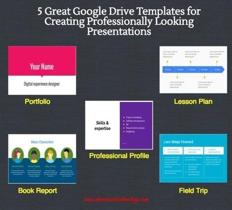 5 Great Google Drive Templates for Creating Professionally Looking Presentations | Дистанционная Школа | Scoop.it