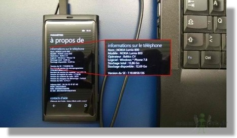 Tutoriel pour Flasher Nokia Lumia 800 sous Windows phone 7.8 [Version Officiel Nokia] | abdnour | Scoop.it