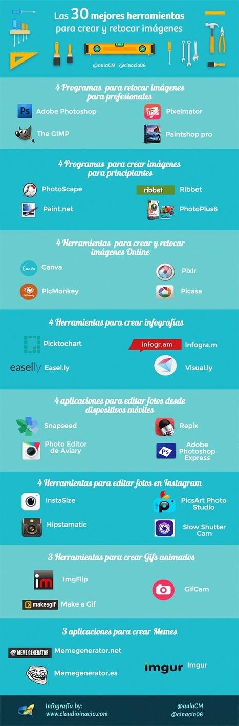 30 Programas y herramientas para retocar fotos e imágenes | EDUDIARI 2.0 DE jluisbloc | Scoop.it