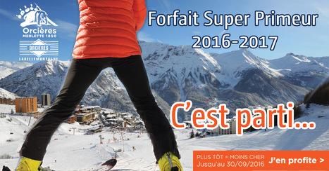 Orcières : Bon plan forfait de ski | Orcières Merlette | Scoop.it