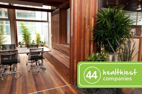 The 44 Healthiest Companies to Work For | Integrative Medicine | Scoop.it