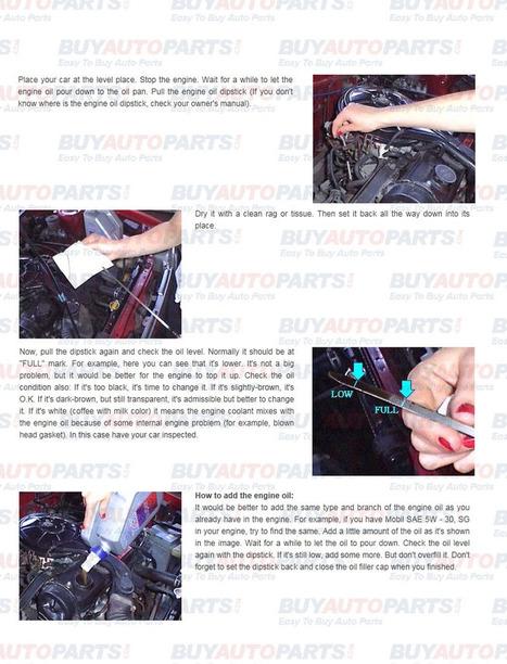 How to change engine oil | Eldarozel News | Scoop.it